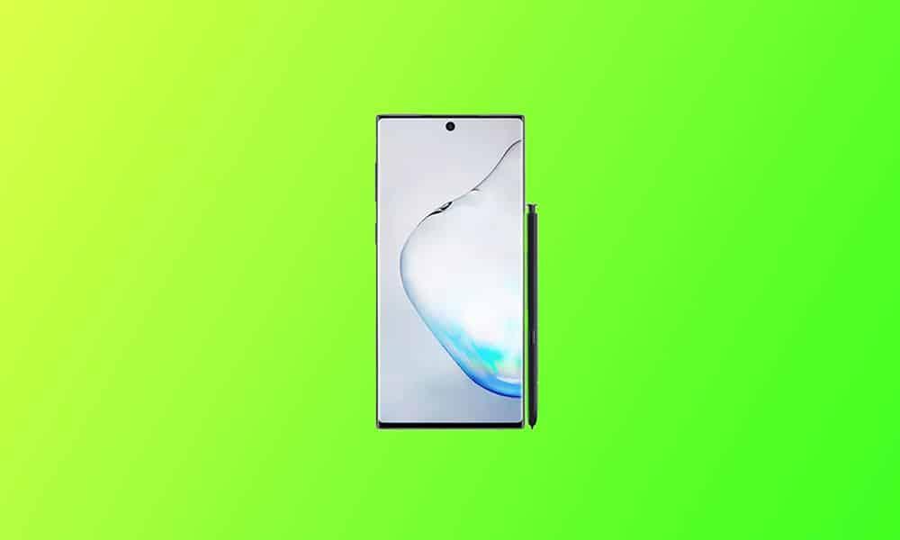 N975FXXU6ETLL / Galaxy Note 10 Plus Android 11 based One UI 3.0 update