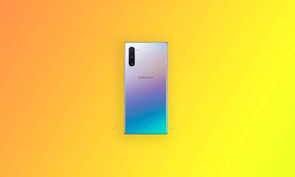 N970FXXU6DTK1 - Galaxy Note 10 December security 2020 patch update (South America)