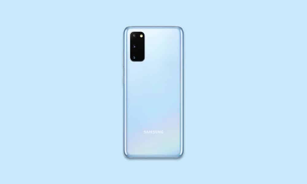 G981BXXU5CUA3 - Galaxy S20 5G January 2021 security patch update