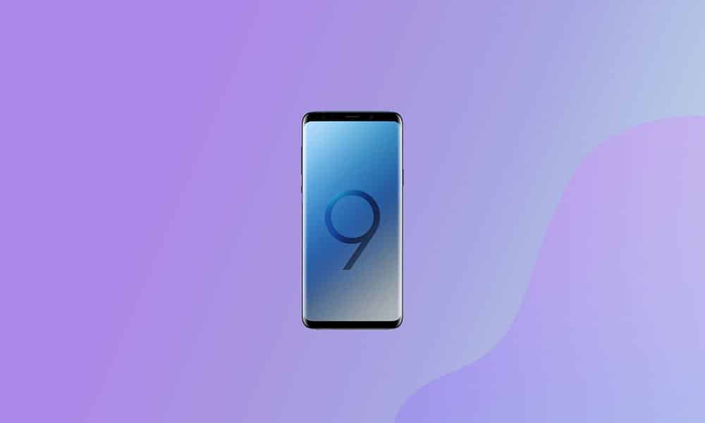 US Carriers Galaxy S9 December Security Patch 2020 released