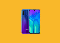 Honor 20i EMUI 10.0.0.173 update releases, packs December 2020 security patch