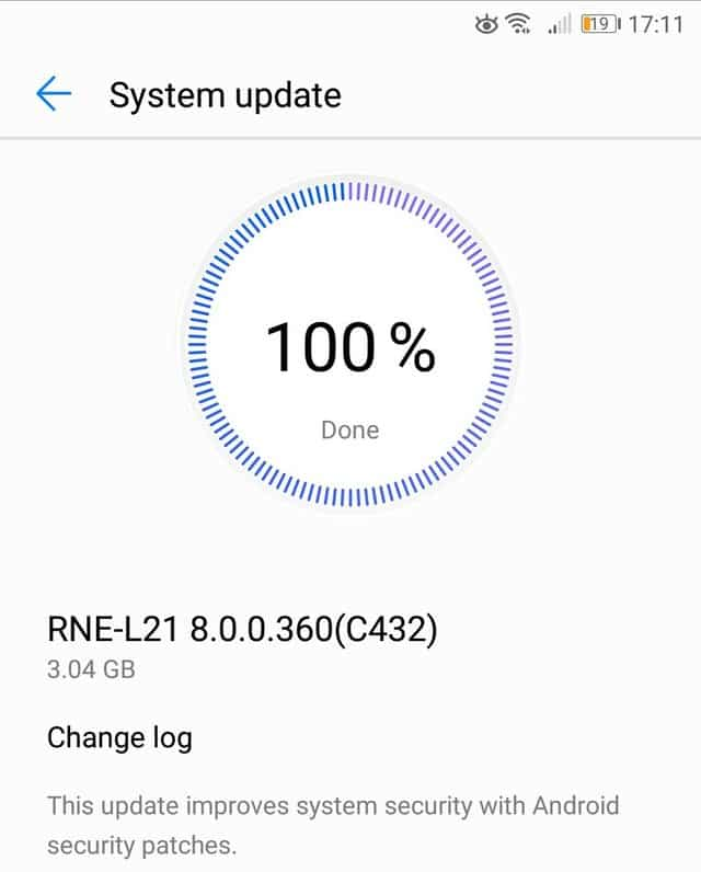 Huawei Mate 10 Lite is getting a new security patch update after a few months