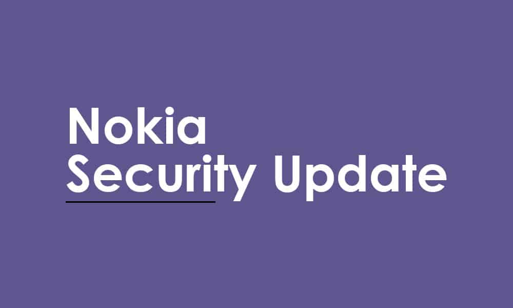 Nokia 8.1 gets January security 2021 patch update (00WW_4_30B_SP10)