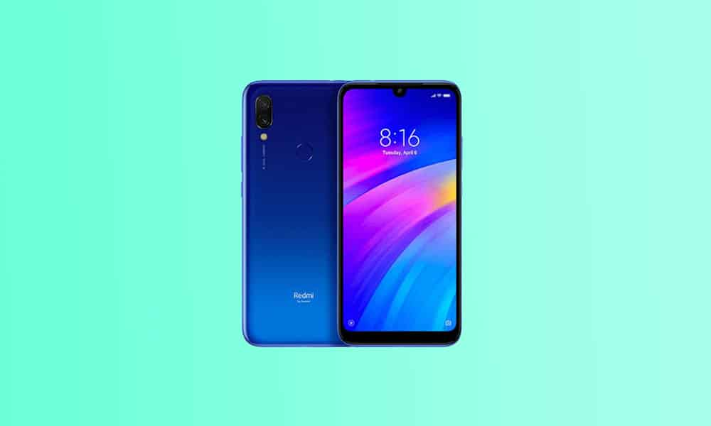 V11.0.1.0.QFLRUXM: Redmi 7 MIUI 11.0.5.0 Russia Stable ROM - December security patch 2020