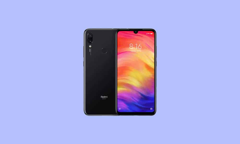 V12.0.3.0.QFGEUXM: Redmi Note 7 Europe Stable ROM - January 2021 security patch