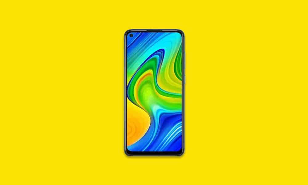 V12.0.1.0.RJWMIXM - Redmi Note 9S Global stable ROM -January 2021 security (Download)