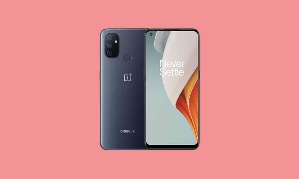 OnePlus Nord N100 OxygenOS 10.5.10