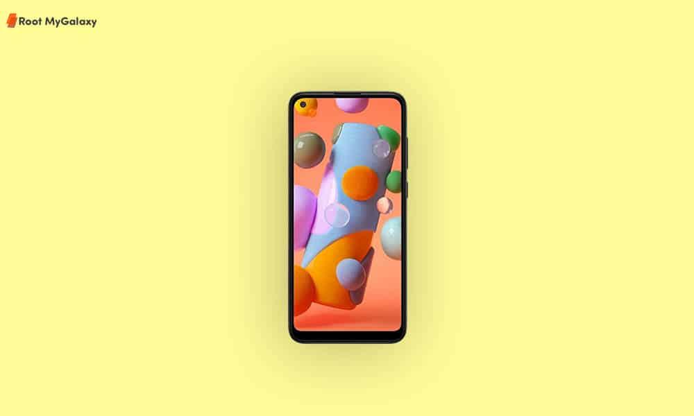 Verizon Galaxy A11 April 2021 security update