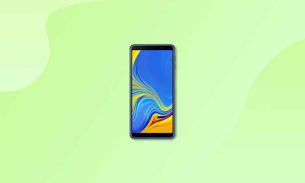 A750FXXU5CUD3 - Galaxy A7 (2018) new update
