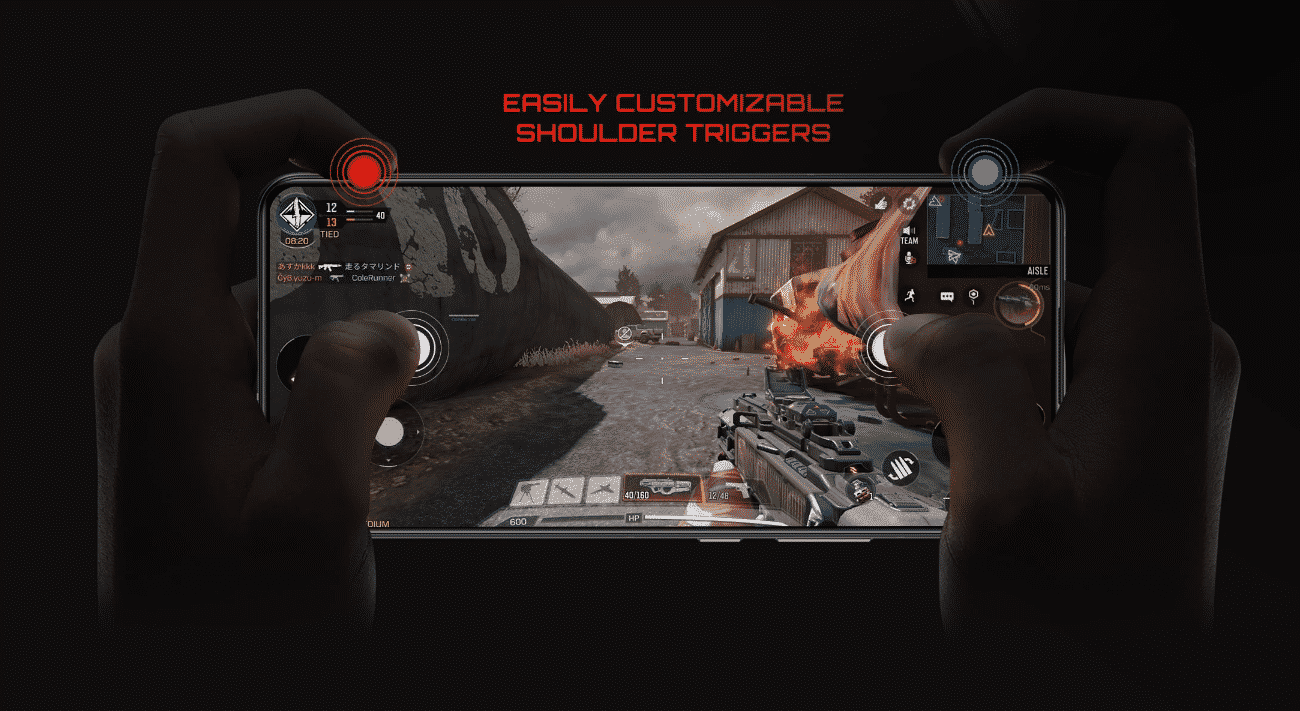 Red Magic 6R shoulder buttons