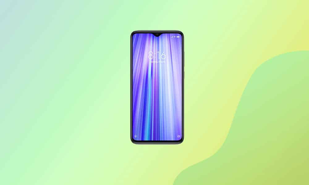 V12.5.1.0.RGGCNXM - Redmi Note 8 Android 11 update