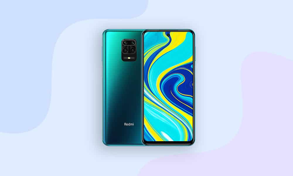 Redmi Note 9 Android 11 update