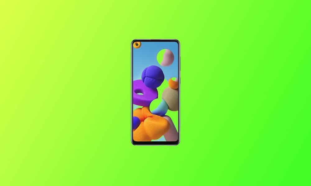 A217FXXU5CUD6 - Galaxy A21s update
