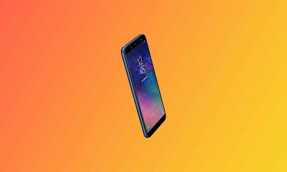 A600GNUBU9CUE3 - Galaxy A6 (2018) May 2021 security update