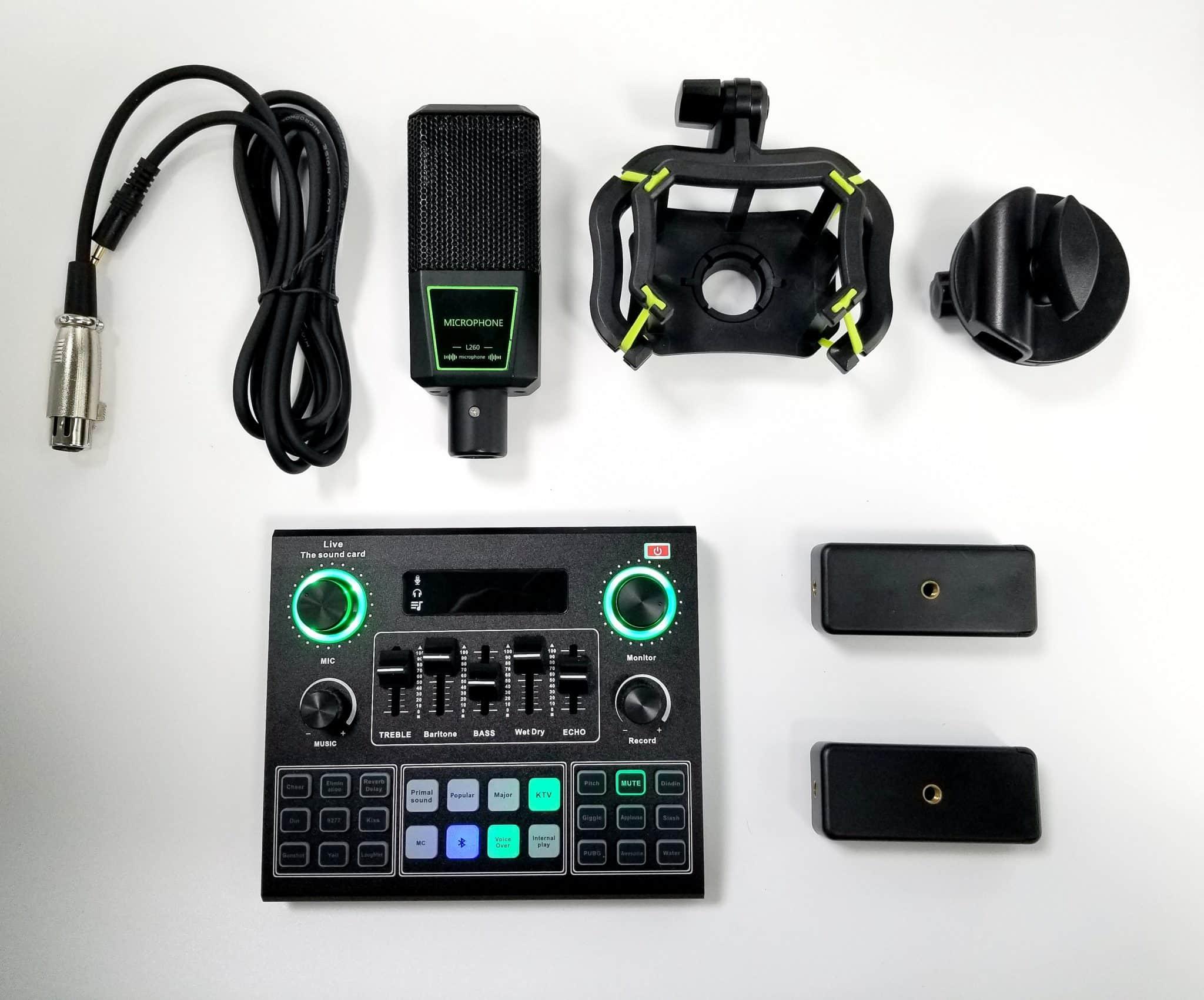 Vidlok Live Sream Kits items