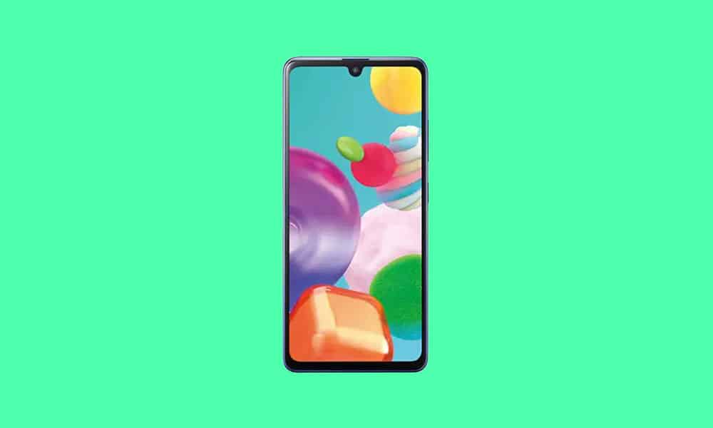 A415FXXS1CUG1 - Galaxy A41 July 2021 security update