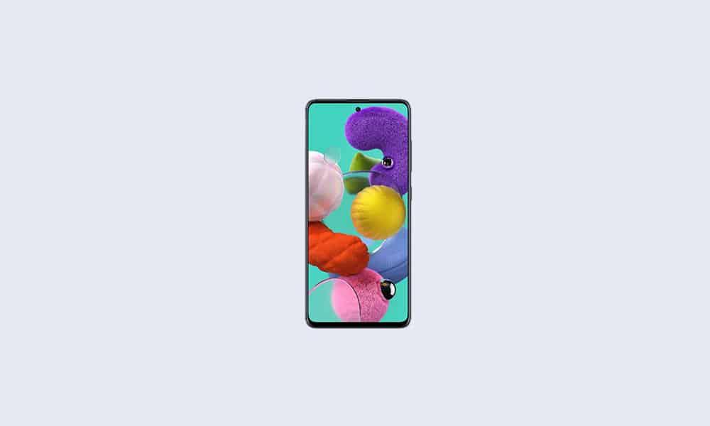 A515FXXU5EUG2 - Galaxy A51 July 2021 security update