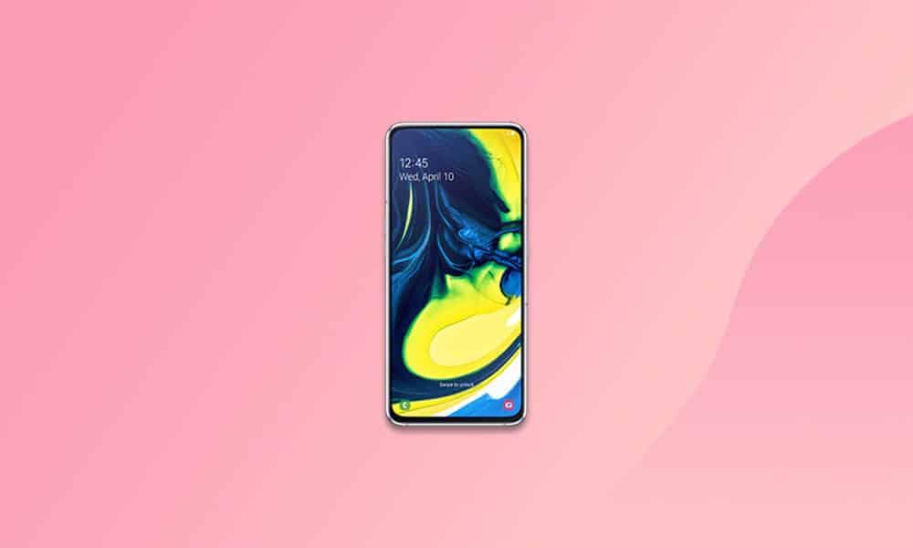 A805FXXS6DUG3 - Galaxy A80 July 2021 security update