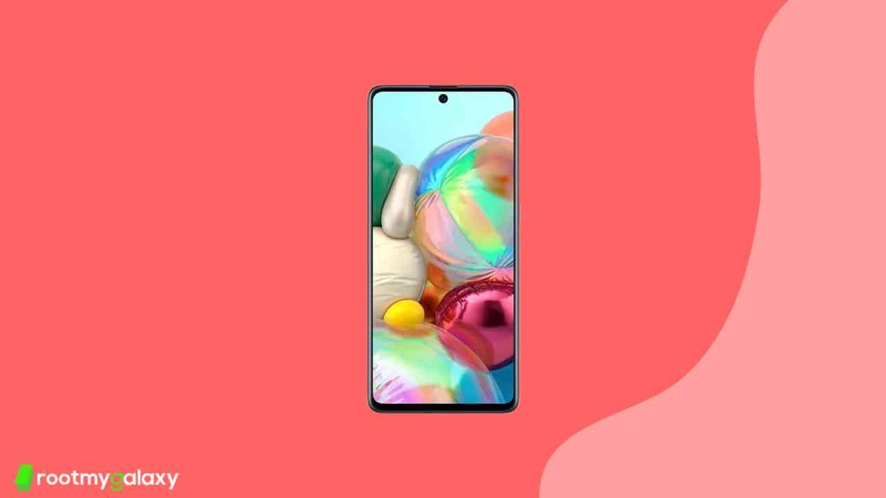 A715FXXU6BUH1 - Galaxy A71 August 2021 security update
