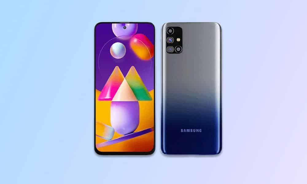 M317FXXU3CUH2 - Galaxy M31s August 2021 security update