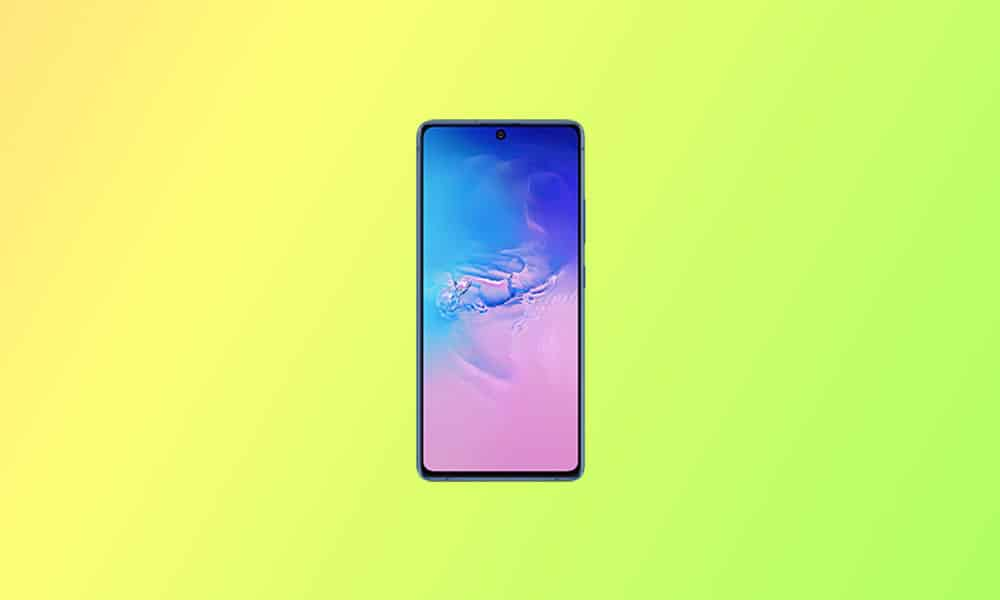 G770FXXS5EUG5 - Galaxy S10 Lite August 2021 security update