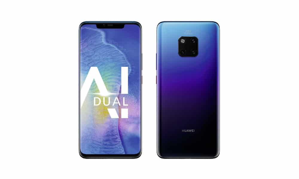 Huawei Mate 20 Pro July 2021 security update