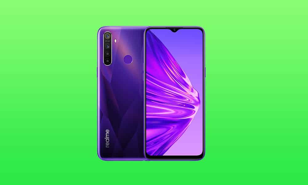 Realme 5, 5s, 5i September 2021 security update