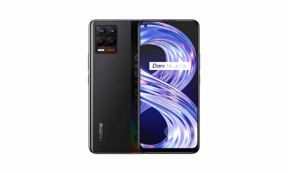 Realme 8 4G September 2021 security update