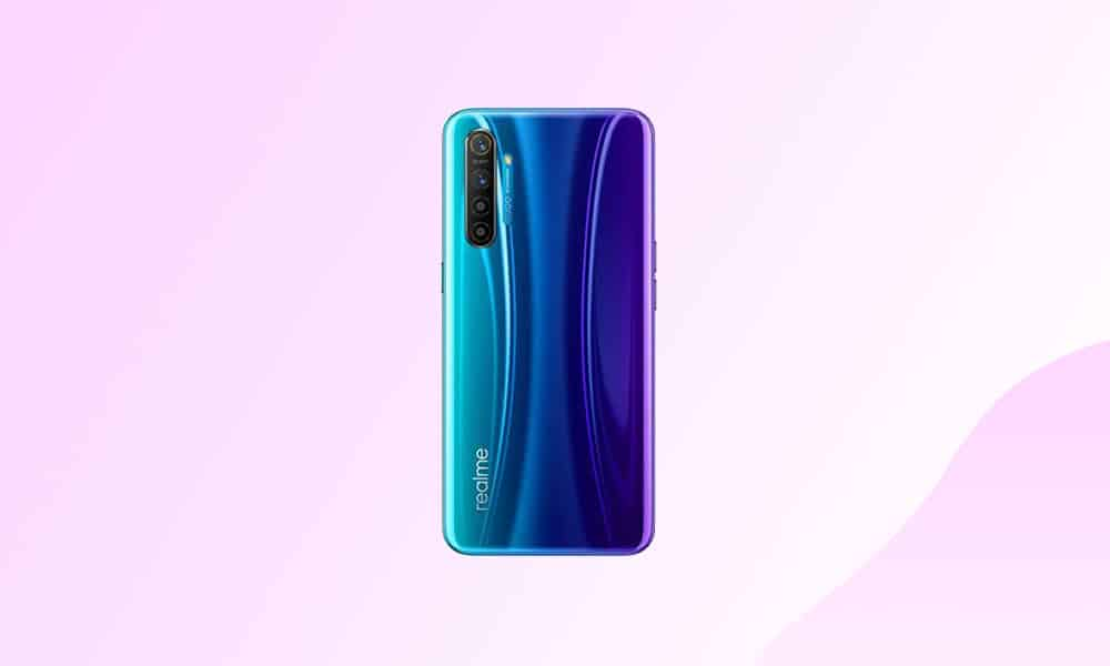 Realme X2 August 2021 security update