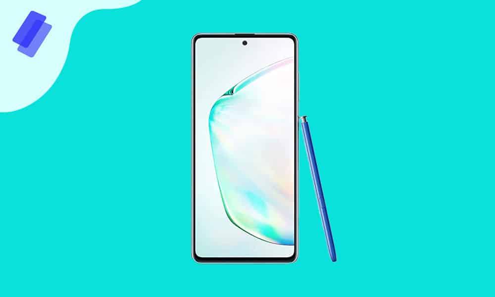 Samsung Galaxy Note 10 Lite September 2021 security update