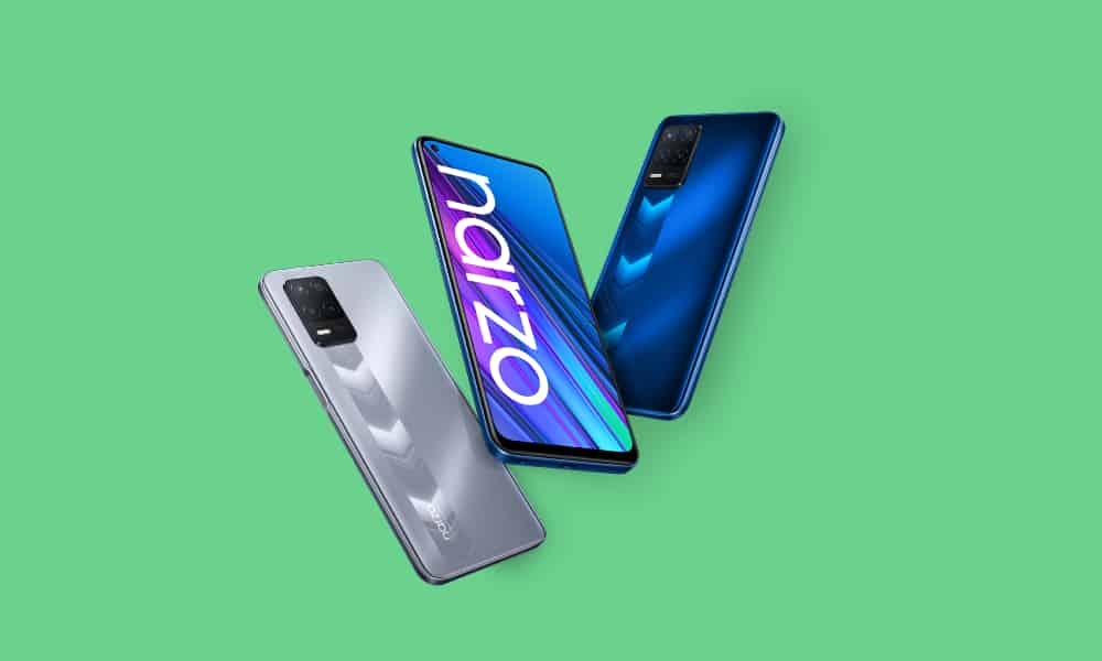 Realme Narzo 30 September 2021 security update