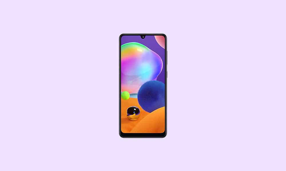 Samsung Galaxy A31 October 2021 security update