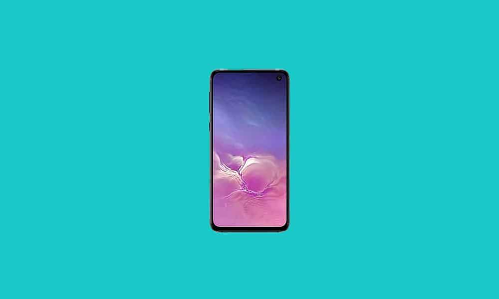 Samsung Galaxy S10, S10+, S10e October 2021 security update