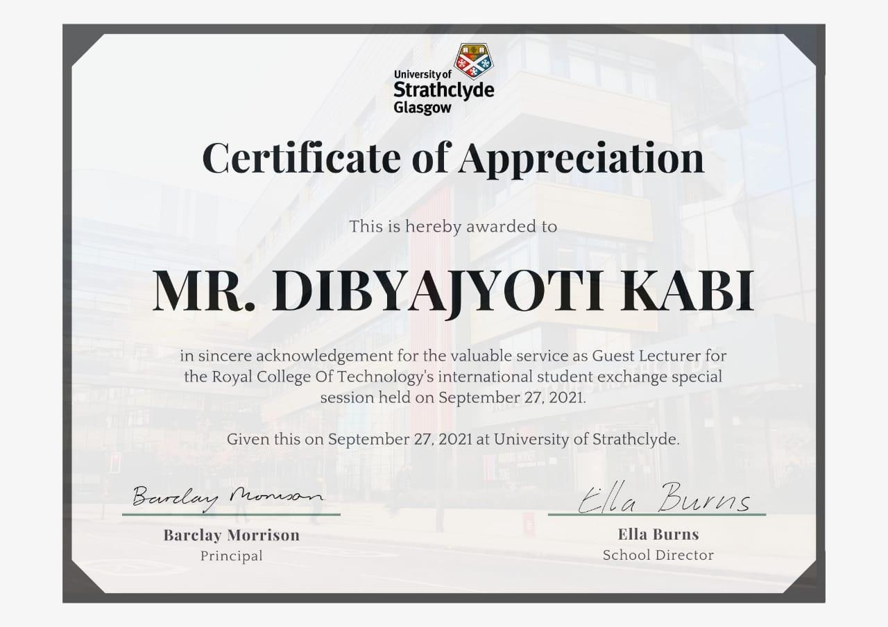 Dibyajyoti Kabi Award