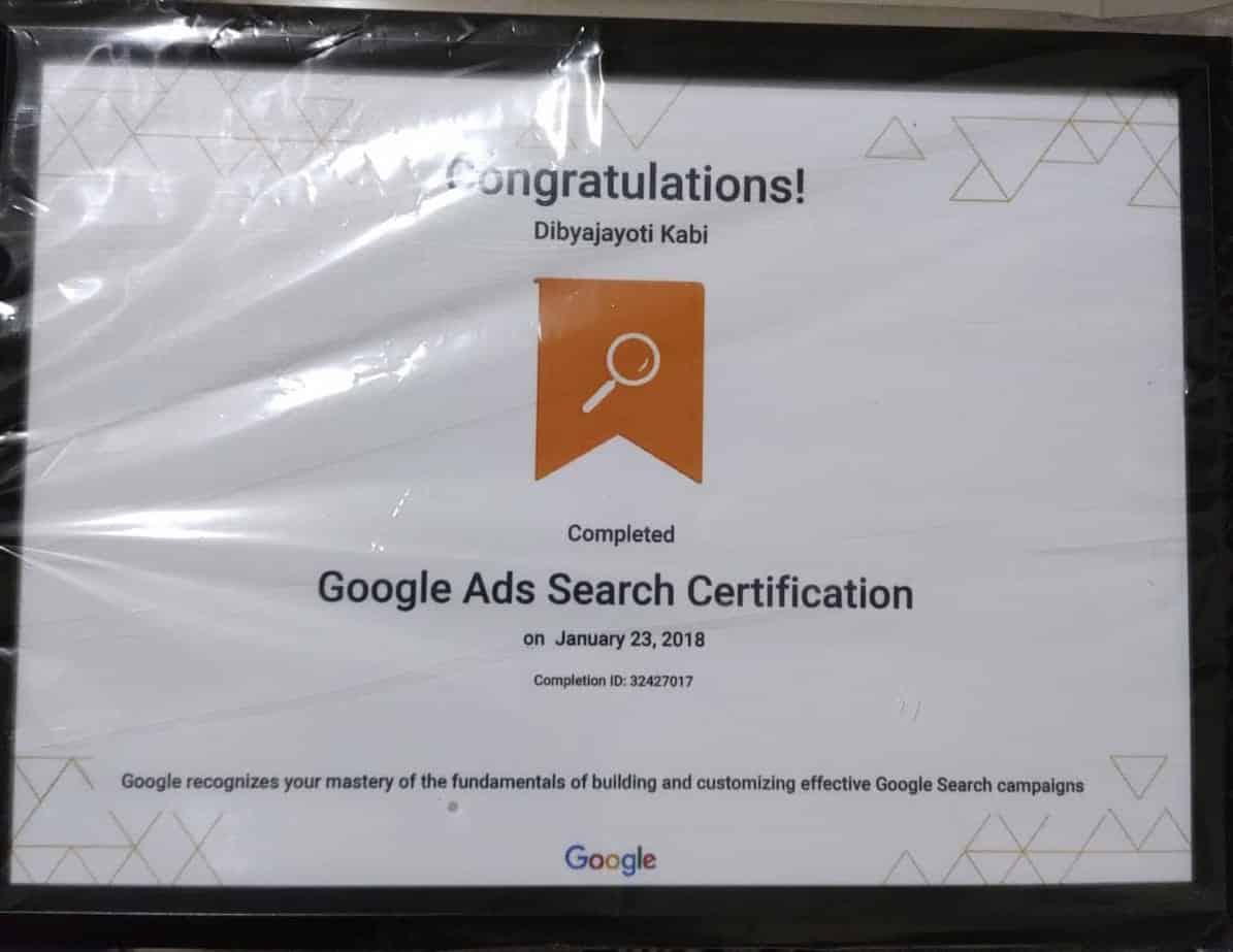 Dibyajyoti Kabi Google